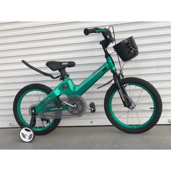 """Велосипед магниевый """"TT-001"""" 16 дюймов зеленый"""